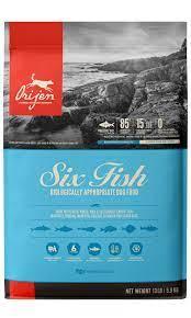 ORIJEN 6 Fish Grain-Free Dry Dog Food Formula
